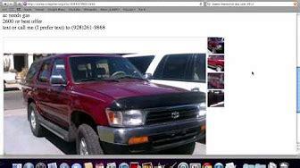 craigslist arizona  cars  sale  owner youtube