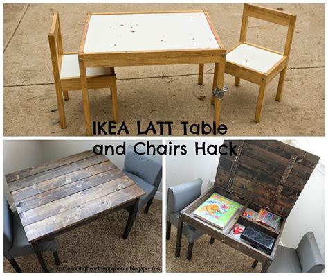 Ikea Kinderzimmer Tisch Stuhl by Ikea Hack Latt Tisch Und St 252 Hle Kreativ Gestalten Ideen