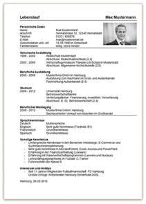 Tabellarischer Lebenslauf Schuler Vorlage Word Lebenslauf Vorlage Sch 252 Ler Dokument Blogs