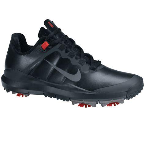 black nike shoes nike tw 13 golf shoes wide black stealth varsity