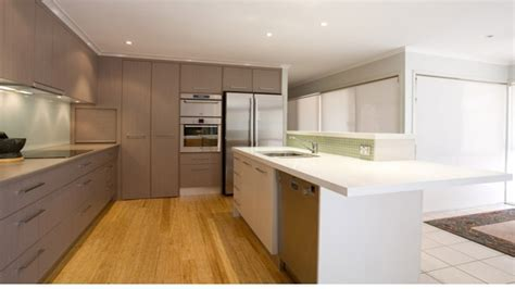 Kitchen cabinets with glass doors, mushroom kitchen