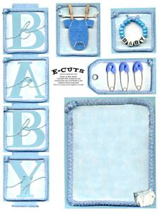 baby scrapbook templates free printable e cuts and print baby boy 1