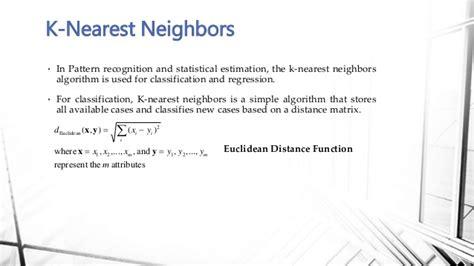 pattern recognition k nearest neighbor flight delay prediction model 2