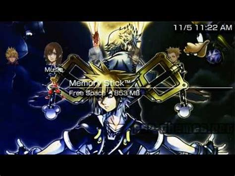 psp themes kingdom hearts 2 heart themes images