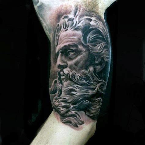 greek tattoos for men 60 tattoos for mythology and ancient gods