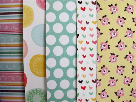 How To Make Fabric Stiff Like Paper - 5 dear lizzy adhesive fabric paper fabric sticker by