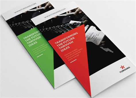 flyer design on behance tri fold business brochure on behance