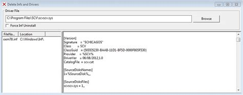 a service installation section in this inf is invalid driver inf sourcedisksfiles setupcoupon