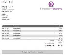 clients can view and print invoices billing features