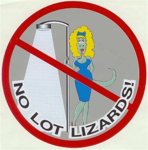 Lot Lizard Sticker