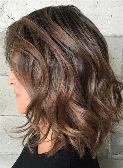 Mid Length Hairstyles For Thick Hair by Medium Thick Hairstyles 2018 Hairstyles