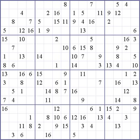 16x16 sudoku printable 16x16 printable sudoku wallpapers pictures