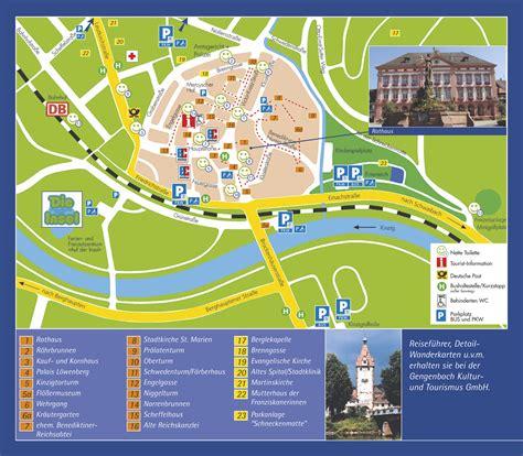 Colmar by Gengenbach Tourist Map Gengenbach Germany Mappery