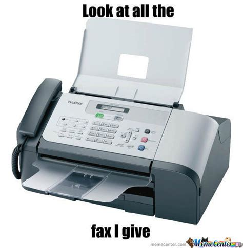 fax machine memes best collection of funny fax machine