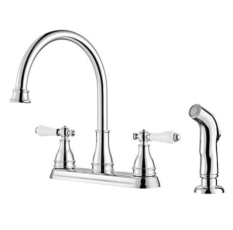 kitchen faucet prices polished chrome sonterra 2 handle kitchen faucet f 036