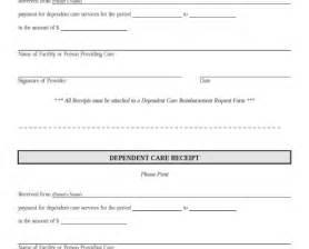 daycare receipt template child care receipt template free