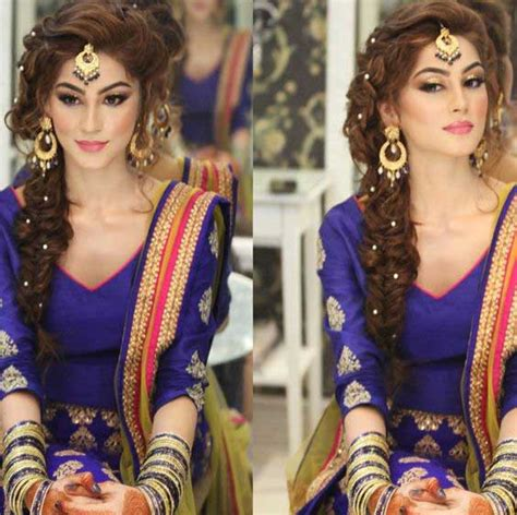 Indian Wedding Hairstyles Braids by Indian Wedding Hairstyles For Indian Brides Up Dos