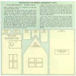 house patterns things your grandmother knew gingerbread house recipe