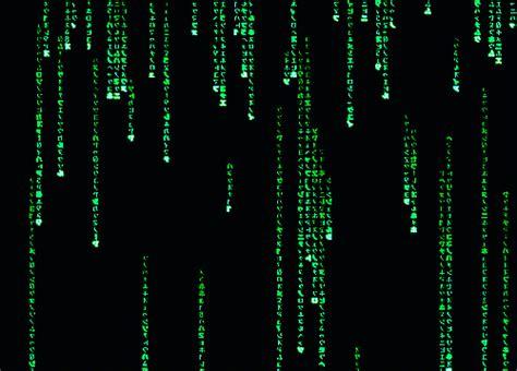 animation code matrix code