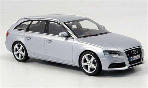 Audi A4 Avant Modellauto by Audi A4 Avant Silber 2008 Minichs Modellauto 1 43