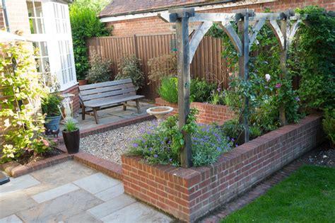 edwardian courtyard garden traditional patio hertfordshire by green tree garden design ltd