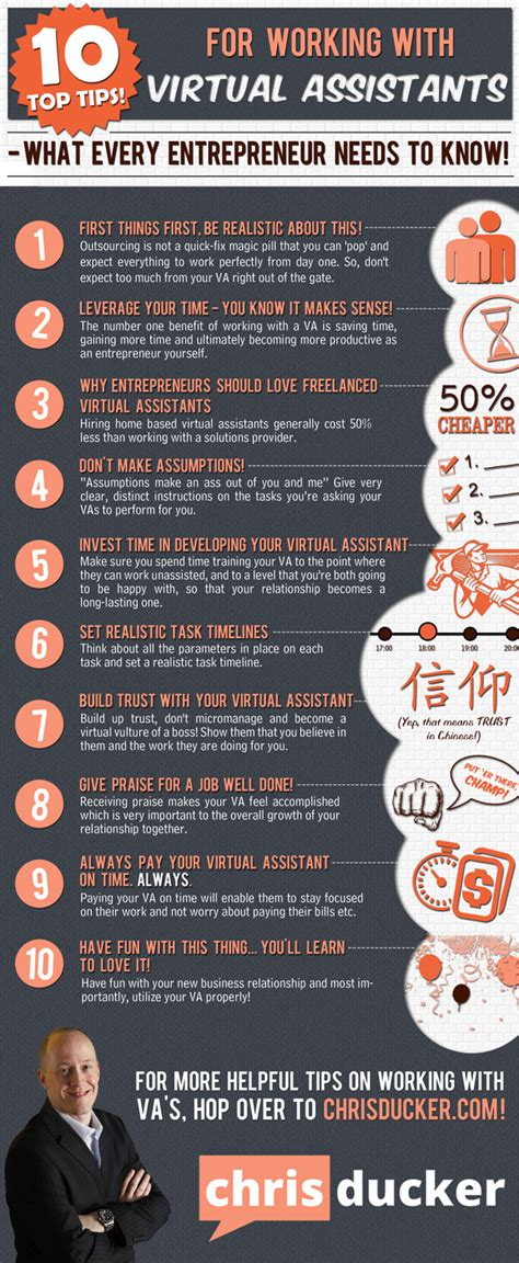 infographic 10 top tips for working with