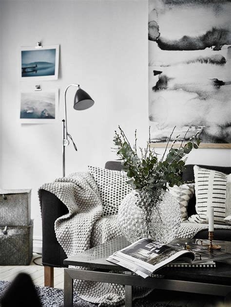 Scandinavian Living Room Furniture Furniture Living Room Cozy Scandinavian Living Room In Black And White Decors Ideas Home