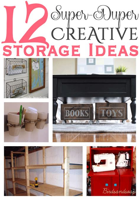 creative storage ideas 12 super duper creative storage ideas
