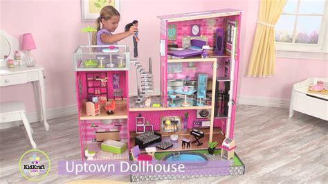 uptown doll house children s uptown dollhouse youtube