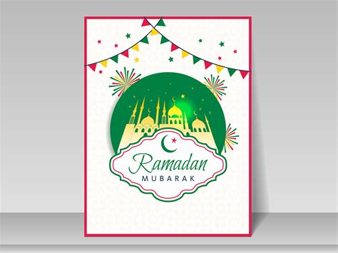 Free Powerpoint Greeting Card Template by Ramadan Greeting Card Backgrounds Religious Templates