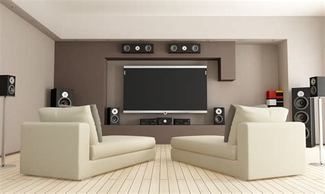 ideas for setting up an ideal home theater