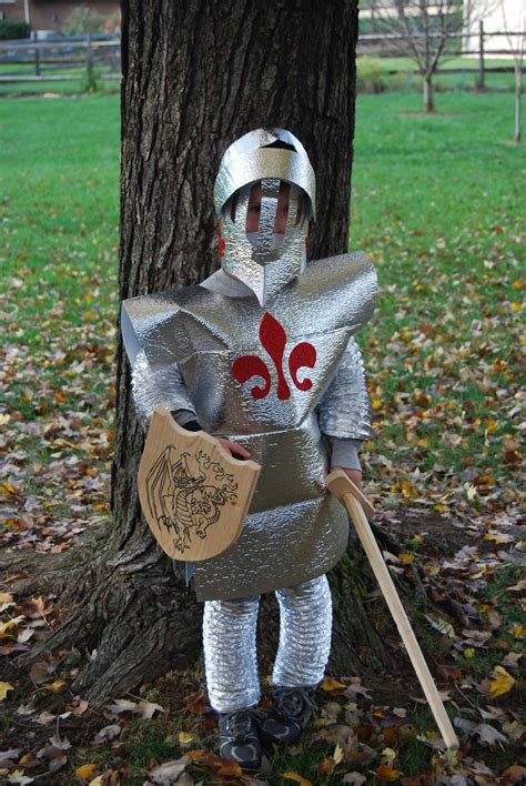 In Handmade Costume - in shining armor costume savings lifestyle