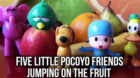 five little puppies jumping on the bed five little monkeys jumping on the bed pocoyo fruit