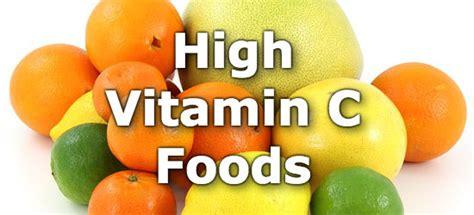 fruit high in vitamin c top 10 foods highest in vitamin c