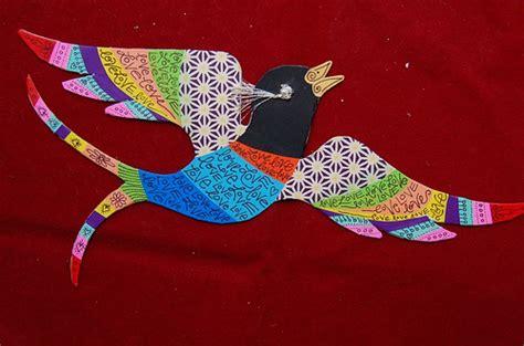 Paper Bird Craft - diy paper bird craft with free template neatorama