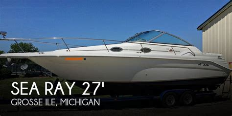 used sea ray boats in michigan for sale used 1997 sea ray 270 sundancer in grosse ile