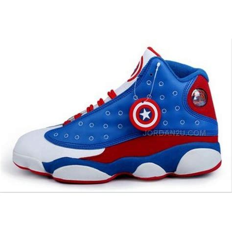 shoes for pictures captain america nike 13 xiii retro mens