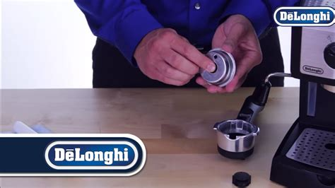 De Longhi Pump Espresso Machines Cleaning The Filter