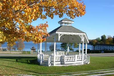 meredith savings bank plymouth nh center harbor bandstand vacation in the lakes region of
