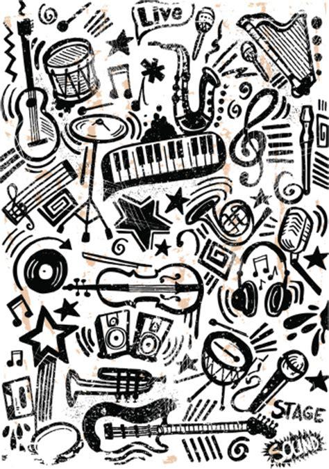 doodle de do song doodle grunge clipart vectoriel thinkstock