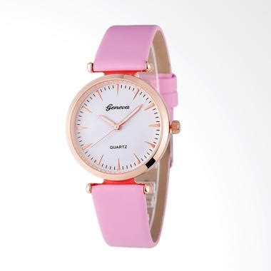 Fashion Geneva Cs Jam Tangan Stainless Steel Rantai Pink jual geneva tsg 04 watches fashion korea jam tangan pink harga kualitas