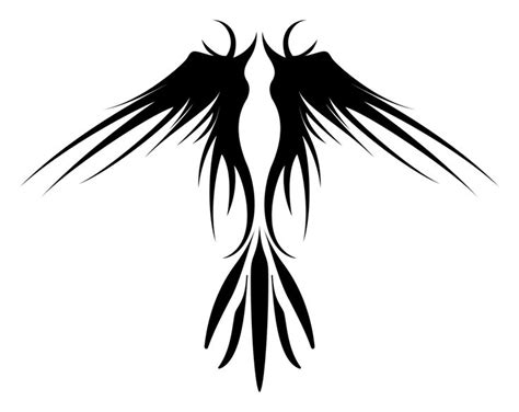 tribal wings tattoo meaning 25 best ideas about tribal bird tattoos on