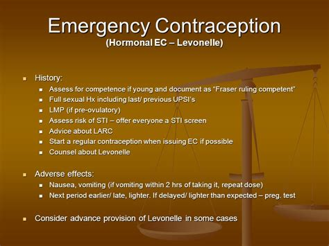 7 Best Emergency Contraceptives by Contracepton For Gp S Dr Mazhar Khan 7 April Ppt