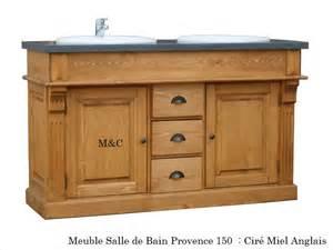 meuble salle de bain cagne pin massif