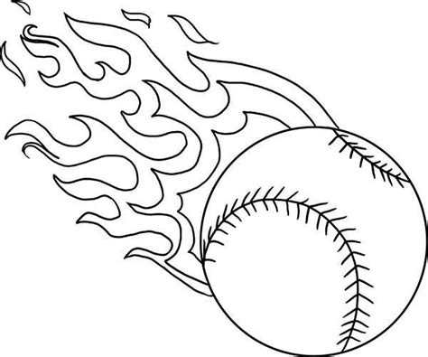 Coloring Pages Of Baseball printable baseball coloring pages coloring me