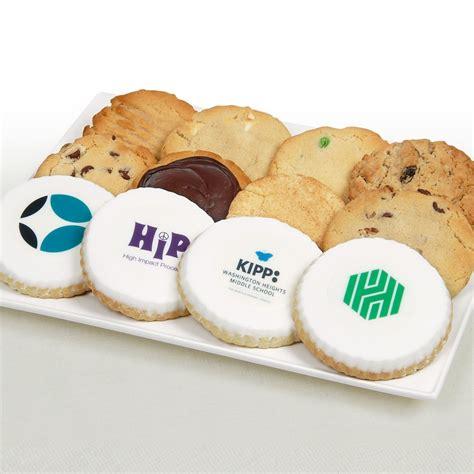 Handmade Cookies - custom logo corporate logo cookies cookie bouquets