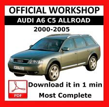 car repair manuals online pdf 2002 audi allroad on board diagnostic system audi a6 repair manual ebay