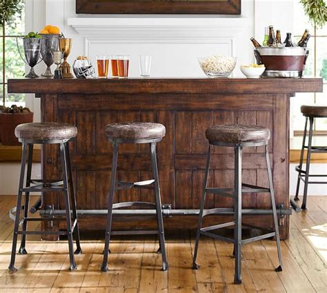 pottery barn bistro rustic ultimate bar large pottery barn