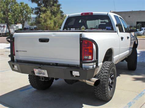 rear bumper lights for trucks dodge power wagon rear bumper 2010 2016 aluminess