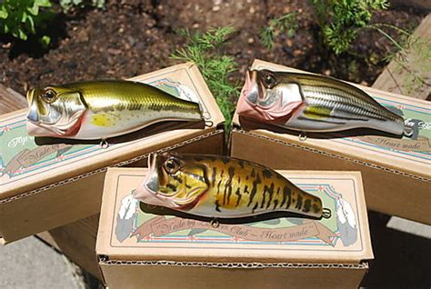 Handmade Topwater Lures - japanese made lunkers club topwater baits the wired